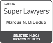 Marcus N. DiBuduo has been selected to the SuperLawyer's List as a Top Rated Intellectual Property Attorney in Fresno, CA